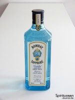 Bombay Sapphire London Dry Gin Vorderseite