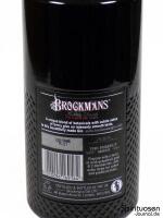 Brockmans Gin Rückseite Etikett