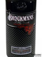 Brockmans Gin Vorderseite Etikett