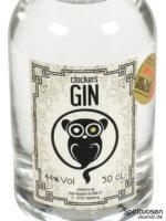 Clockers Gin Vorderseite Etikett