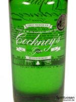 Cockney's Gin Vorderseite Etikett