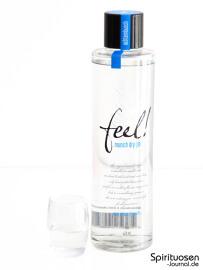 Feel! Munich Dry Gin Glas und Flasche