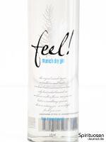 Feel! Munich Dry Gin Vorderseite Etikett
