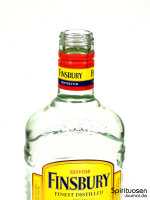 Finsbury London Dry Gin Hals
