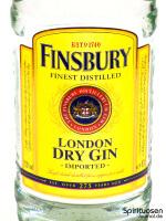 Finsbury London Dry Gin Vorderseite Etikett