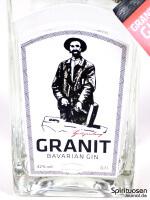 Granit Bavarian Gin Vorderseite Etikett