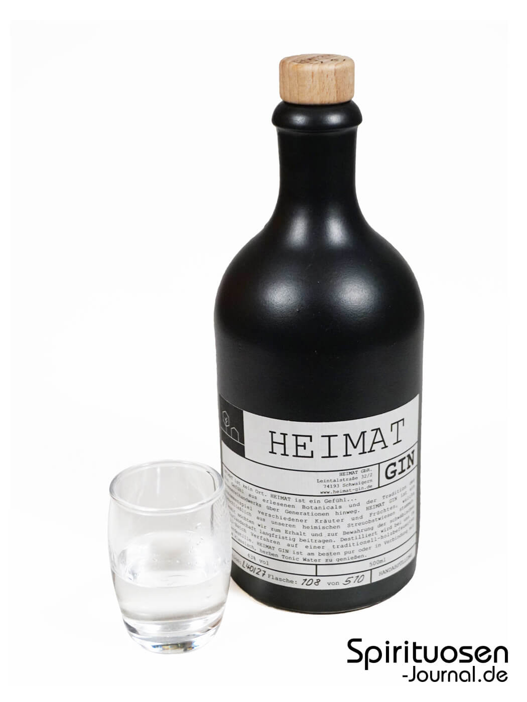 Test Heimat Gin Spirituosen Journal De