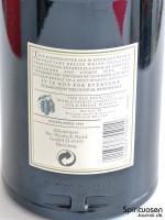 Hendrick's Gin Rückseite Etikett