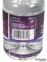 LAW Gin Rückseite Etikett