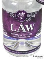 LAW Gin Vorderseite Etikett