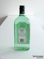 London Hill Dry Gin Rückseite