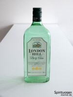 London Hill Dry Gin Vorderseite