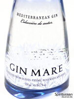 Gin Mare Vorderseite Etikett