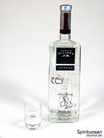 Martin Miller's Gin Glas und Flasche