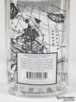 Martin Miller's Westbourne Strength Dry Gin Rückseite Etikett