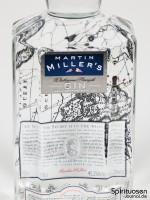 Martin Miller's Westbourne Strength Dry Gin Vorderseite Etikett