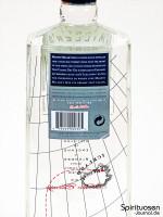 Martin Miller's Gin Rückseite Etikett