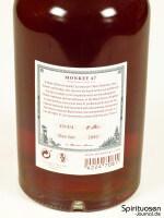 Monkey 47 Schwarzwald Sloe Gin Rückseite Etikett