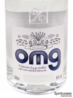 OMG - Oh MY Gin Vorderseite Etikett