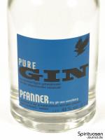 Pfanner Pure Gin Vorderseite Etikett