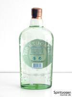 Plymouth Gin Rückseite