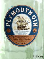Plymouth Gin Vorderseite Etikett