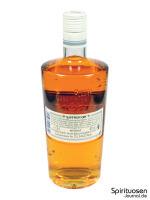 Saffron Gin Rückseite