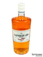 Saffron Gin Vorderseite
