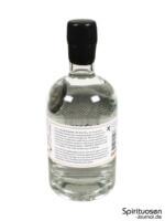 Shortcross Gin Rückseite