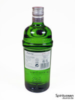 Tanqueray London Dry Gin Rückseite