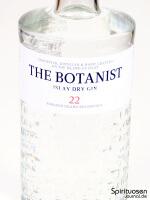 The Botanist Islay Dry Gin Vorderseite Etikett
