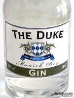 The Duke Munich Dry Gin Vorderseite Etikett