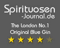 The London No.1 Original Blue Gin Wertung