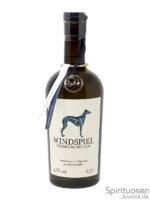 Windspiel Dry Gin Vorderseite