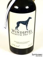 Windspiel Dry Gin Vorderseite Etikett