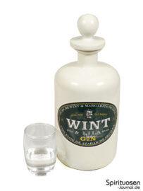 Wint & Lila Gin Glas und Flasche