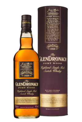 Launch des limitierten GlenDronach Port Wood