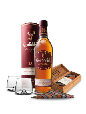 Glenfiddich und Gentleman's Agreement mit Set zum Vatertag