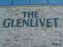 Glenlivet-Schriftzug