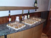 Whiskyauswahl im Glenlivet-Tastingraum