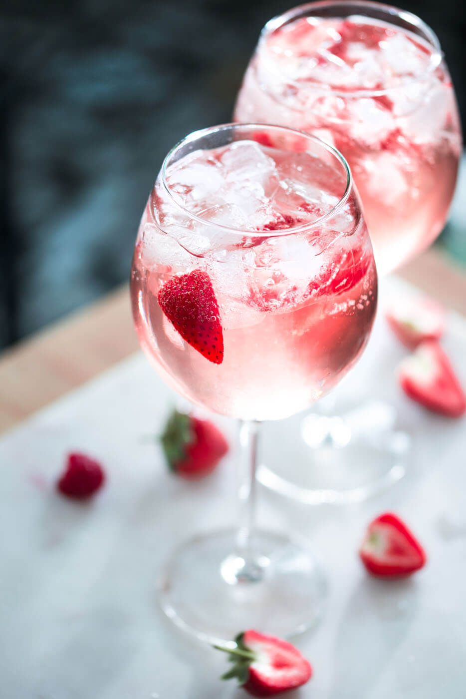 Cocktails: Frühlingsdrinks mit Gordon\'s Pink Distilled Gin ...
