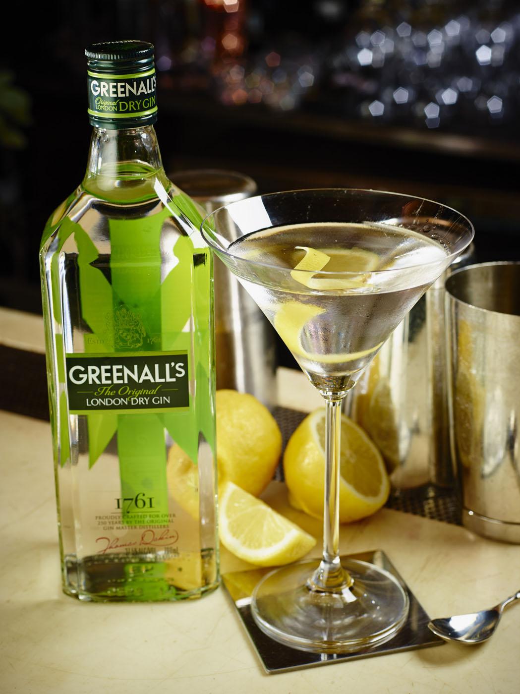 cocktails drei rezepte mit greenall 39 s gin spirituosen. Black Bedroom Furniture Sets. Home Design Ideas