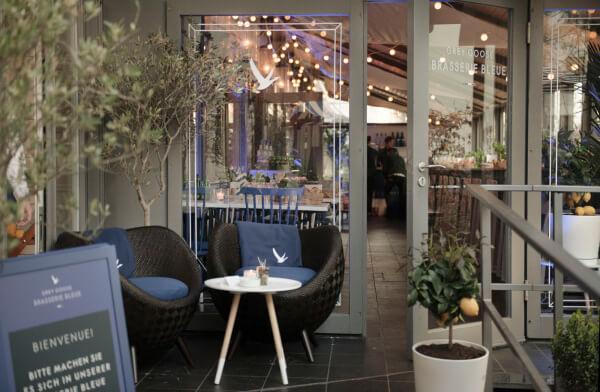 Grey Goose und Käfer kooperieren für 'Brasserie Bleue'
