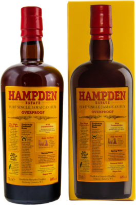 Hampden Estate Pure Single Jamaican Rum Overproof