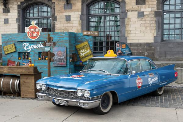 Taxi Especial by Havana Club tourt auch im Sommer