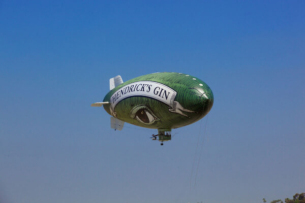 Hendrick's Air - The Flying Cucumber