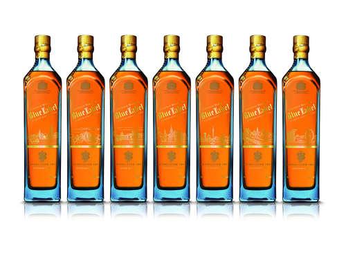 Johnnie Walker Blue Label Skyline Range