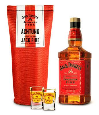 Jack Daniel's Tennessee Fire Geschenkset
