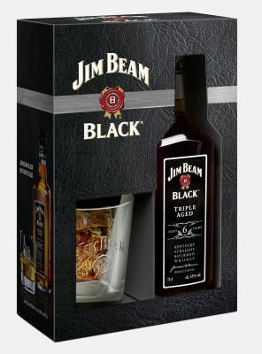 Jim Beam Black Label Geschenkset