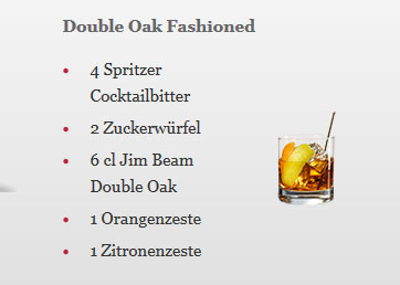 Double Oak Fashioned